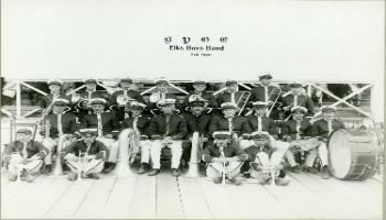 Red Deer Archives, P2775; Elks Boys Band, 1926