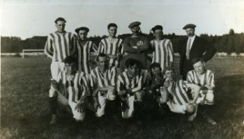 Red Deer Archives, P397; Red Deer Association Football team, 192?