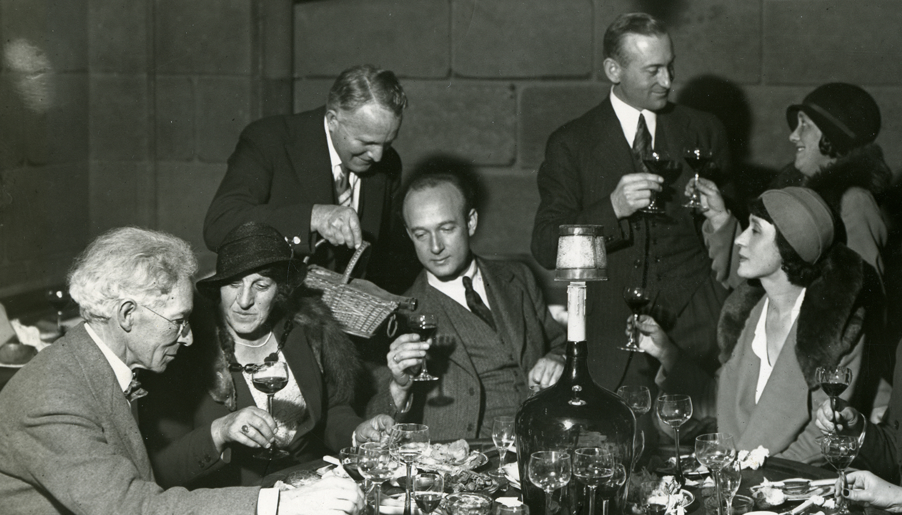 Dinner party, ca. 1935
