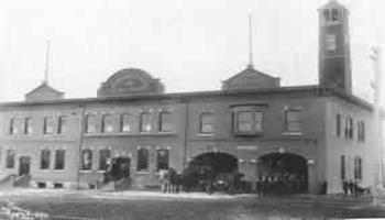 Original City Hall and Fire Hall 1912