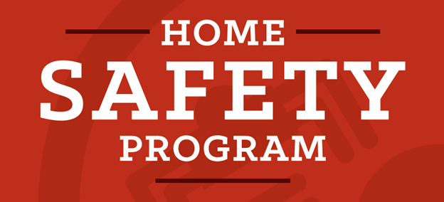 Home Safety Program information banner