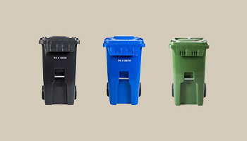 Blue Black Green Carts