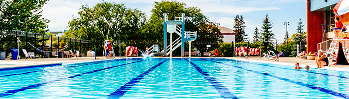 Recreation Centre Outdoor Pool - 2016